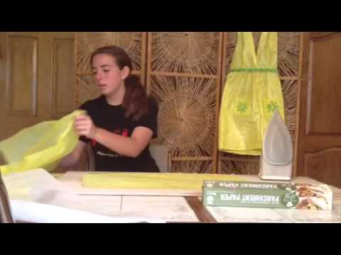 How to Make Plastic Grocery Bags into Fabric.