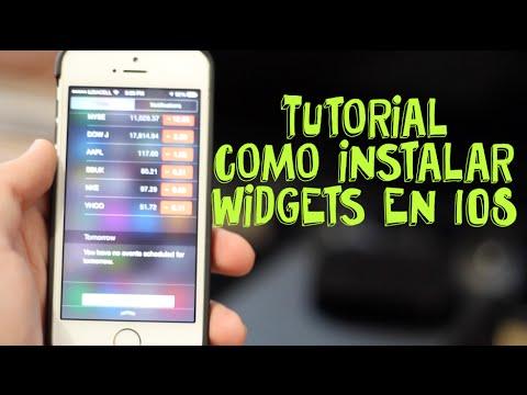 Como Instalar Widgets en tu iPhone, iPad y iPoch Touch - Maudricio
