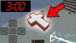 Do NOT Play the FIRST VERSION of Minecraft Pocket Edition at 3:00 AM!!!