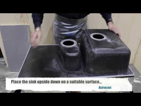 Installing a ROK® Granite Sink