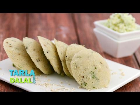 Oats Rava Idli, South Indian Breakfast Recipe by Tarla Dalal