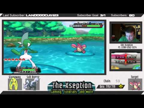 [Live] Fourth Consecutive Fishing Shiny (Corphish) in Omega Ruby/Alpha Sapphire (ORAS)