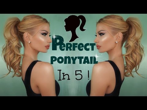 How To Do : THE PERFECT PONYTAIL - Hairstyle