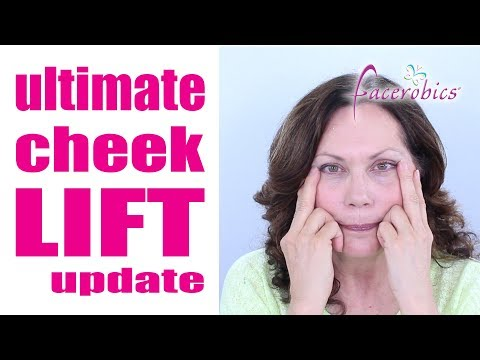 Natural Face Lift Exercise to Lift & Tone the Cheeks | FACEROBICS®