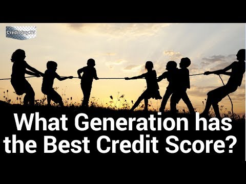 What Generation has the best Credit Score?