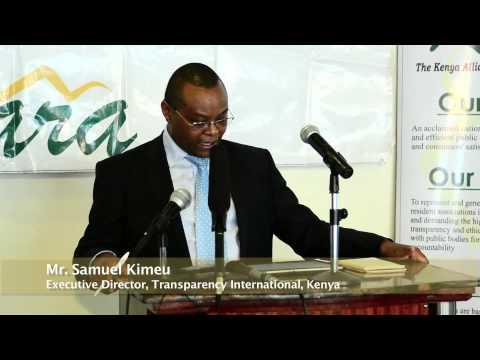 Kenyan Fight Against Corruption