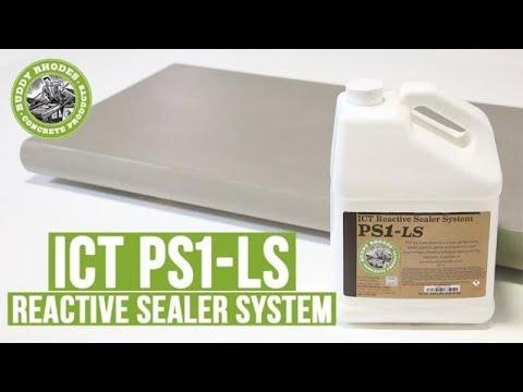 ICT PS1 LS Concrete Sealer Application Guide