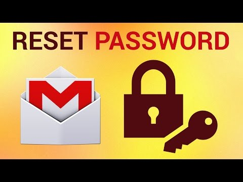How to reset google gmail password
