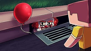 Minecraft | PENNYWISE COMES BACK TO LIFE: IT is Alive! (Stupid Place)