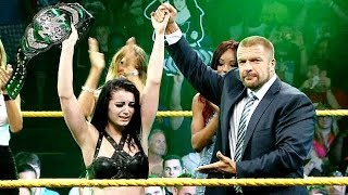 Paige and Emma clash to become the first ever NXT Women