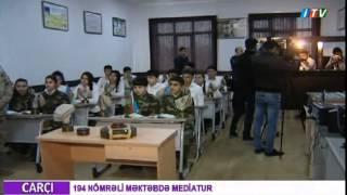 31 mart - Azərbaycanlıların Soyqırımı Günü ərəfəsində 194 nömrəli məktəbə mediatur