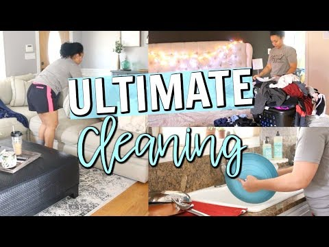 ULTIMATE CLEAN WITH ME 2018 | EXTREME CLEANING MOTIVATION | Page Danielle