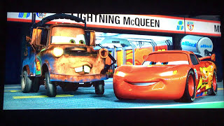 Opening To Cars 2 2011 Blu Ray Part 1
