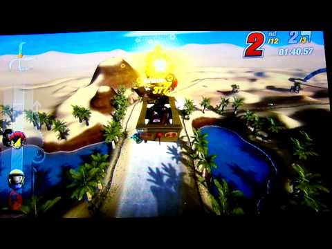 ModNation Racers BETA Gameplay