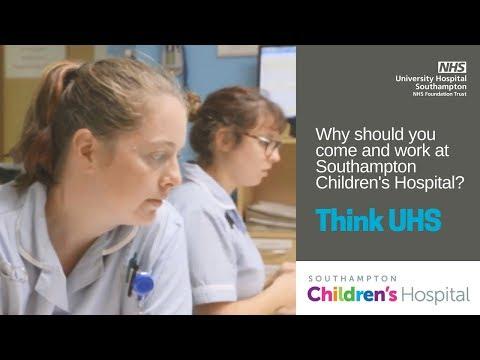 UHS Jobs | Southampton Children's Hospital