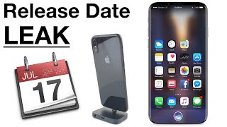 iPhone 8 Release Date Leaked? Vacation & Channel Update!