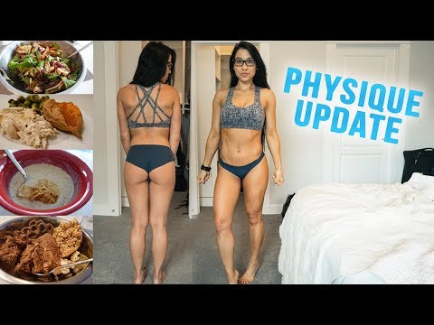 Physique Update | Full Day of Lean Bulking (How to Build Muscle Over Fat)