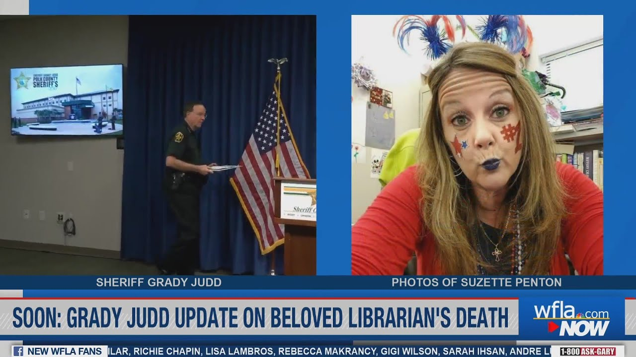 Grady Judd says teens will be charged as adults in death of Polk City librarian