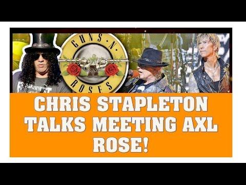 Guns N' Roses News: Chris Stappelton Talks Meeting Axl Rose In Nashville