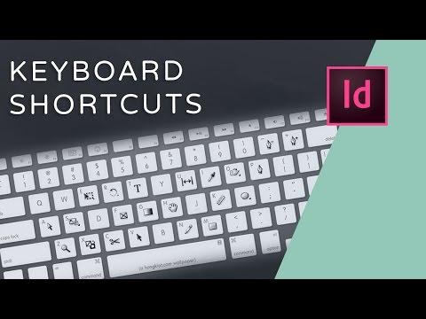 10 InDesign Keyboard Shortcuts
