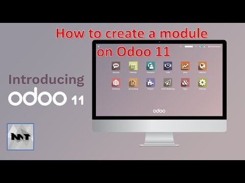 How to create module on Odoo 11