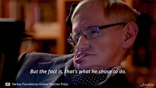 How Indian Engineers Helped Stephen Hawking