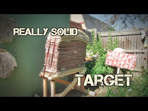 How to: Make A Really Solid Archery Target