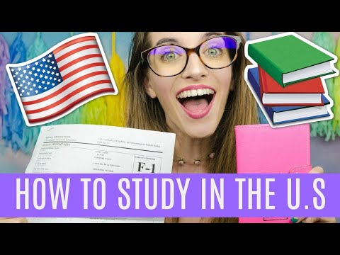 HOW TO GET AN F1 VISA   STUDY IN THE USA