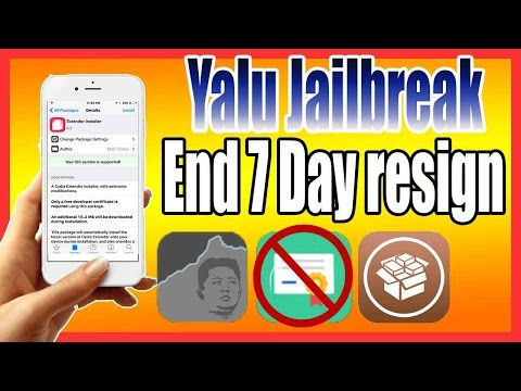 Yalu Jailbreak Auto Resign [NO MORE 7 Day Resign Needed & No PC]: Plus Resign All IPA Automatically