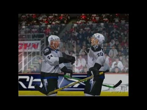 NHL 07 Xbox Gameplay - Breakaway