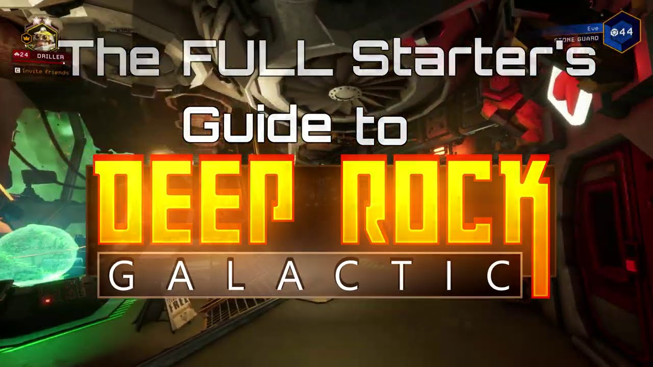 The FULL Starter's Guide to Deep Rock Galactic