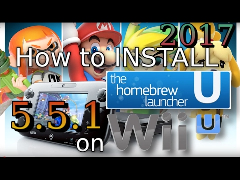 Hack WII U 2017 Install Homebrew Launcher SOFTMOD Easy, Homebrew launcher without internet