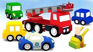 Download Мультики для детей - 4 машинки все серии подряд Video