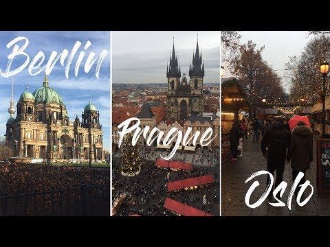 WEEKEND TRIP TO BERLIN, PRAUGE, AND OSLO CHRISTMAS MARKETS!!