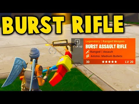 NEW BURST RIFLE GAMEPLAY! *NEW* FAMAS RIFLE UPDATE GAMEPLAY || Fortnite Battle Royale!