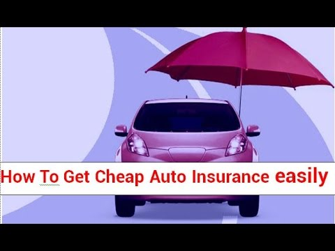 How To Get Cheap Auto Insurance easily in USA