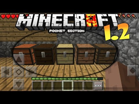 MCPE 1.2 UPDATE OUT!?? -MINECRAFT PE 1.2 OFFICIAL SCREENSHOTS / CONCEPT! - MCPE 1.2 BUILD 1 NEWS