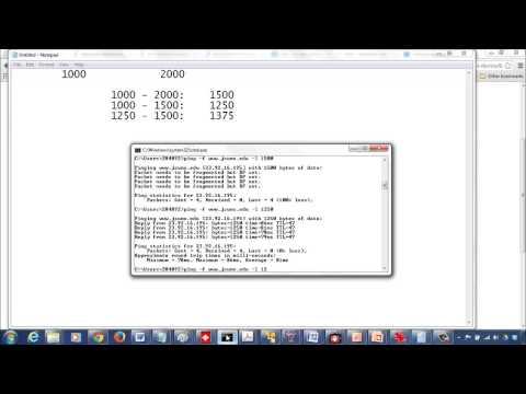 MTU BinarySearch DF bit