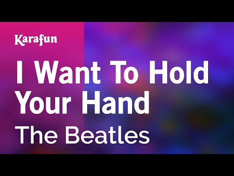Karaoke I Want To Hold Your Hand - The Beatles *