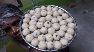 Sweet RAVA LADDU Recipe / Making Rava Laddu in My Home / My Village Food