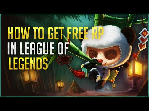 League Of Legends How To Get FREE RP!!! (10$ PER WEEK!)