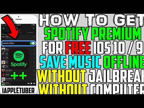 NEW Get Spotify ++, MovieBox, & HACKED Apps/Games for FREE (NO JAILBREAK) - iOS 10 / 11 / 9 WORKING