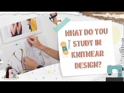 Studying Knitwear Design In India | Fashion Week With Shivangi