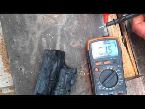 Conductivity of Charcoal