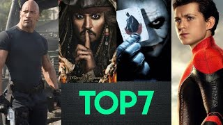 Top 7 Hollywood BGM || Trending BGM || All time Hits || 2020