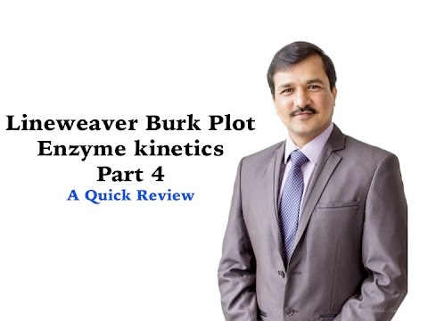 Enzyme Kinetics Part 4 (Lineweaver Burk Plot)