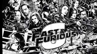 FAST & FURIOUS 6: THE EPIC ART MOVIE PREVIEW - Speed Drawing