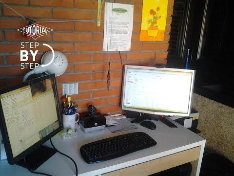 Usar dos monitores en un PC.