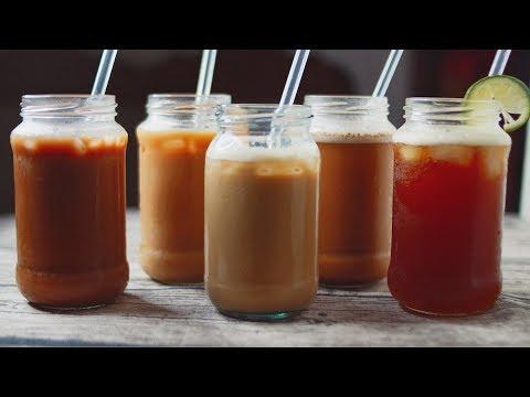 ICED COFFEE RECIPES | 5 EASY ICED COFFEE RECIPES