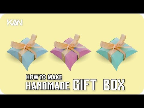 How to Make Homemade Gift Box Easy & Simple
